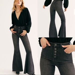 NWT Free People Irreplaceable Flare Jeans sz 29